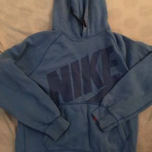 Blue nike pullover